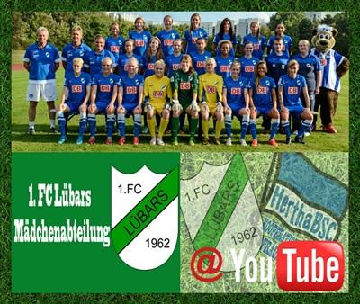 1. FC Lübars Frauenabteilung Webseite