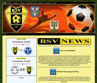 BSV Vorfläming Webseite