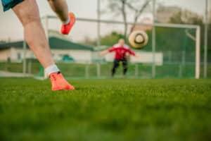 Bundesliga Legenden unter sich mit Eike immel im Tor