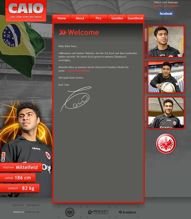 Offizielle Webseite von Caio César Alves dos Santos