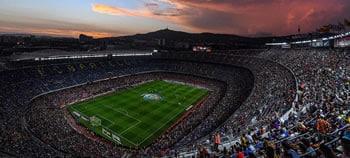 Camp Nou Fußballstadion in Barcelona