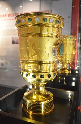 FC Bayern als DFB Pokal Gewinner