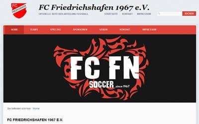 FC Friedrichshafen Webseite