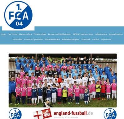 1. FCA 04 Darmstadt Webseite