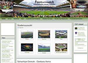 Footballmatch » Fussballstadien, Arenen, Sitzpläne, Fankultur