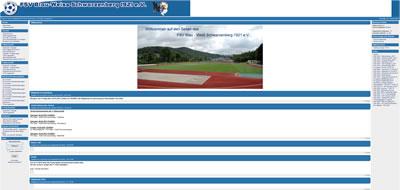 FSV Blau-Weiß Schwarzenberg Webseite