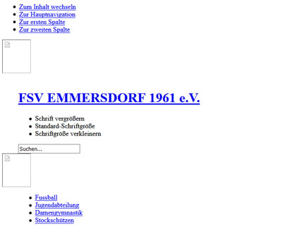 FSV Emmersdorf