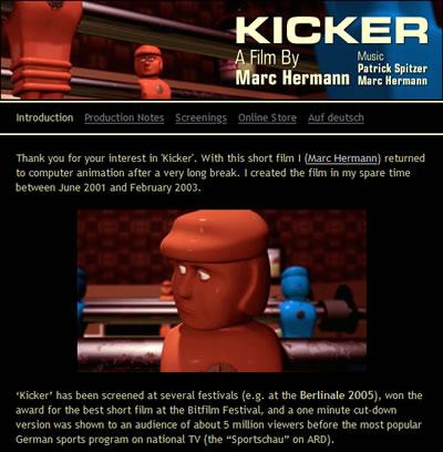 Der animierte Kicker Film von 2003