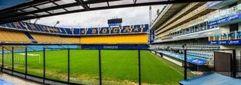 La Bombonera Fußballstadion in Buenos Aires