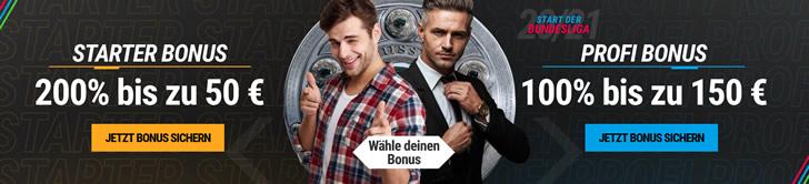 Bonus Aktionen bei Neobet.de