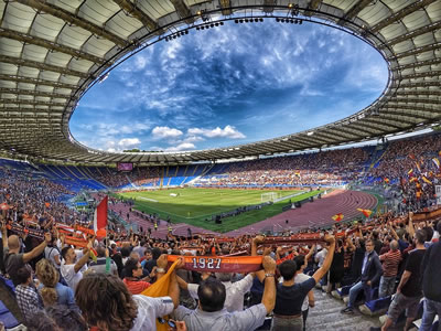 Im Stadion Online Wetten während des Spiels