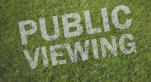 Politik setzt sich für Pubic Viewing ein