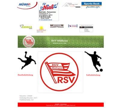 RSV Mülheim Webseite