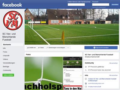 SC Vier- und Marschlande Facebookseite
