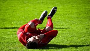 Weitere Sportverletzungen beim Fußball