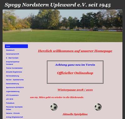 Spvgg Nordstern Upleward Webseite