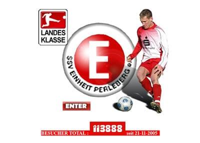 SSV Einheit Perleberg Webseite
