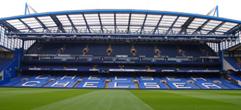 Stamford Bridge Fußballstadion in London
