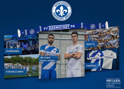 SV Darmstadt 98 Webseite