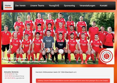 SV Eberbach Webseite