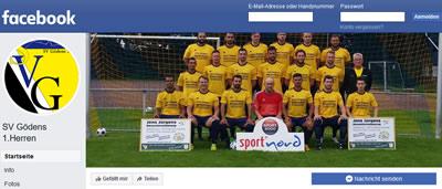 SV Gödens Facebookseite