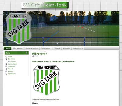 SV Griesheim Tarik Webseite