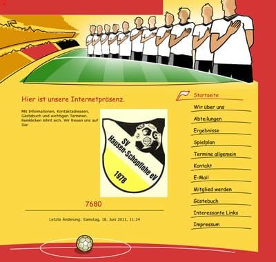 SV Hausen-Schopflohe Webseite