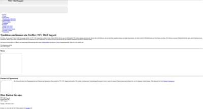 TSV 1862 Sagard Webseite
