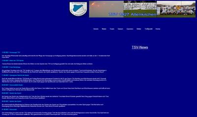 TSV Altenkirchen Webseite