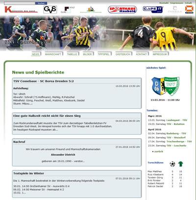 TSV Cossebaude Webseite