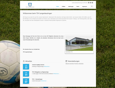 TSV Langenbeutingen Webseite