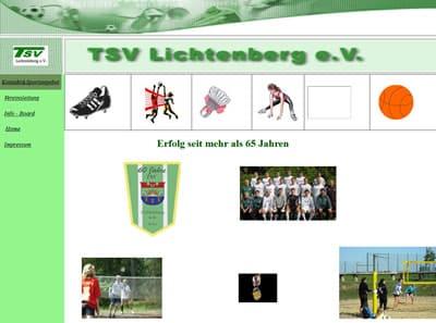 TSV Lichtenberg Webseite