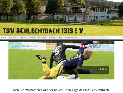TSV Schlechtbach Webseite