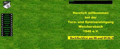 TSV Weichersbach Webseite