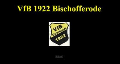 VfB 1922 Bischofferode Webseite