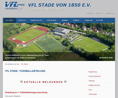 VfL Stade Webseite